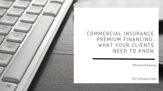 Commercial Insurance Premium Financing